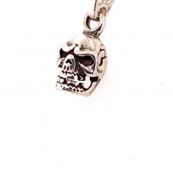 Přívěsek stříbrný - Lebka 1
