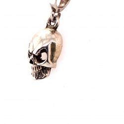 Přívěsek stříbrný - Lebka 5