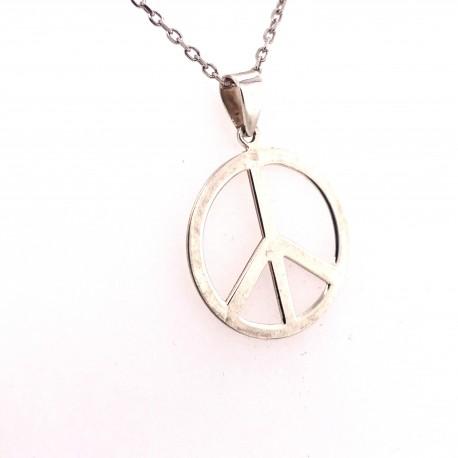 Přívěsek stříbrný - Hippies