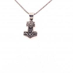 Přívěsek  stříbrný  - Thorovo kladivo malé