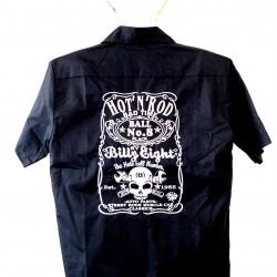 Košile  Hot rod černý