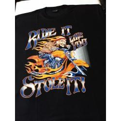 T-shirts 4 xl  - Kostlivec plameny