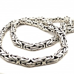 Řetízek stříbrný - Královský vzor 6