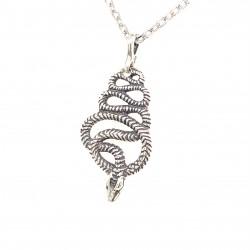 Přívěsek  stříbrný  - Had malý