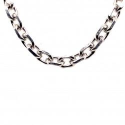 Řetízek stříbrný - Rhodium anker střed