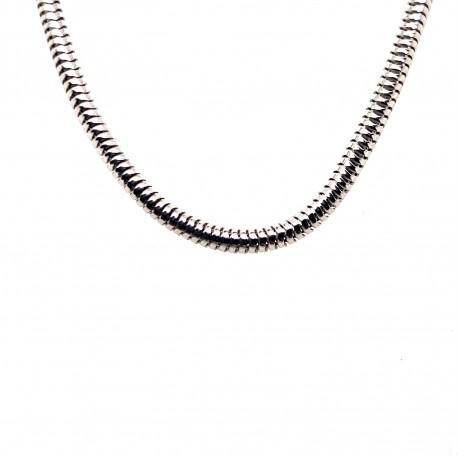 Řetízek stříbrný - Rhodium had flexi