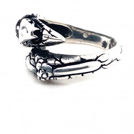 Prsten stříbrný -  Drápy