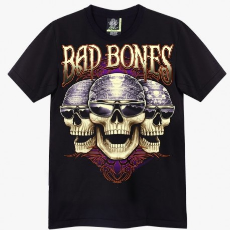 T-shirts - Tři lebky Bad Bones