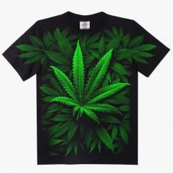 T-shirts - Zelená tráva