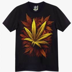 T-shirts - žlutá tráva