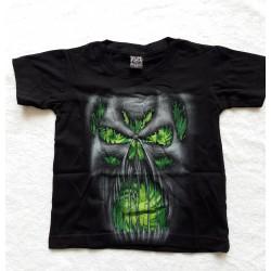 Tričko dětské - Monster zelený