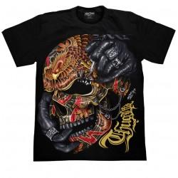 T Shirts M - Lebka Hrom