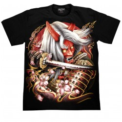 T Shirts M- Ďábel samuraj