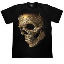 T Shirts XL - Maorská lebka