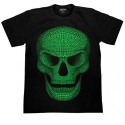 T Shirts XL - Lebka zelená