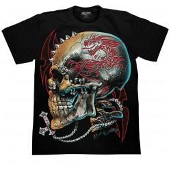 T Shirts XL- Lebka ornament