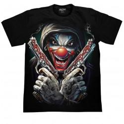 T Shirts L- Joker pistole