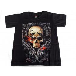 Tričko dětské - Lebka v trní