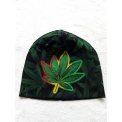 Čepice - zelená tráva list