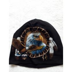 Čepice - orli v lapači snů