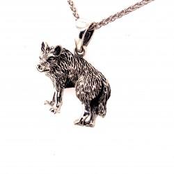 Přívěsek  stříbrný  - Vlk