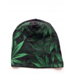 Čepice - zelená tráva