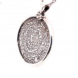 Přívěsek  stříbrný  - Starosumerká mince střední
