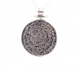 Přívěsek  stříbrný  - Starosumerská mince