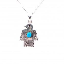 Přívěsek  stříbrný  - Mayský orel