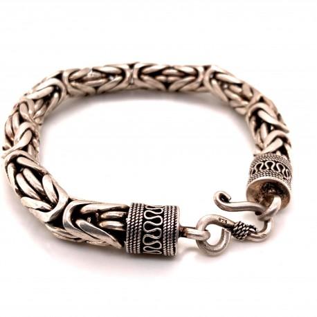 Náramky stříbrné - Královský vzor
