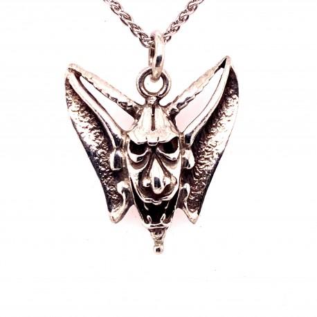 Přívěsek  stříbrný  - Ďábel